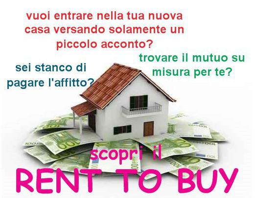 i vantaggi del rent to buy